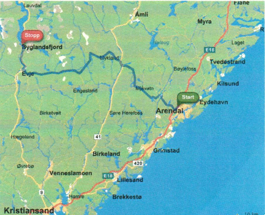 arendal kart Vennebu Veibeskrivelse arendal kart